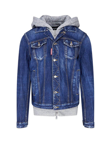 Fashion Hybrid Denim Jacket