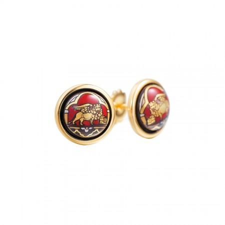 Luxury FreyWille Venise Cabochon Earrings