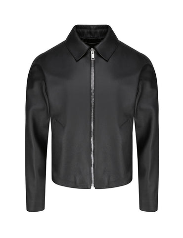 Fashion Blouson Leather Jacket
