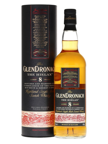 Glendronach The Hielan' 8 Year Old