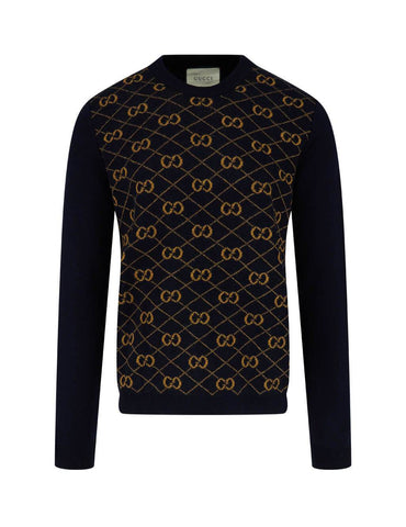 GG Crew Neck Wool Jumper