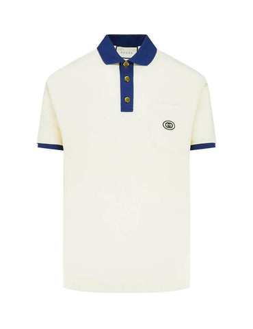 Interlocking G Patch Polo Shirt
