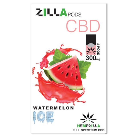 Hempzilla Watermelon Ice CBD Pods