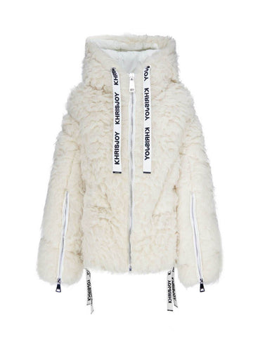 Fashion Khris Alpaca Puffer Jacket