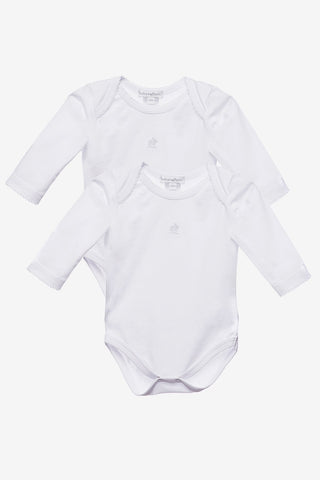Babycottons 2-pack Long Sleeve Bodysuits