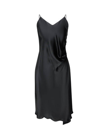 High-Quality Asymmetric Slip Dress