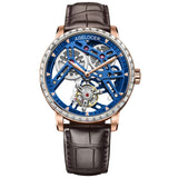 AGELOCER New Swiss Original Tourbillon Watch Men Power Reserve 80 Top Brand Luxury Skeleton Sapphire Clock Men Relogio Masculino