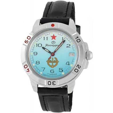 Watch Vostok Komandirskie 431314 mechanical men's military watch with hand-winding military air force air force Russia