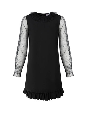 High-Quality Dobby Sleeve Dress