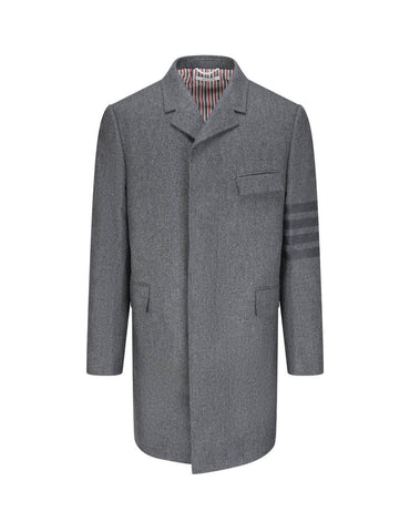High-Quality Chesterfield Coat