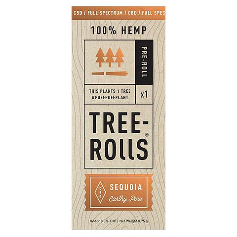 Tree-Rolls Sequoia CBD Pre-roll
