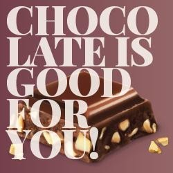 משלוח למארז שוקולד Chocolate is good for you - Max Brenner