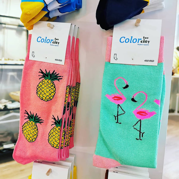 Colorful Socks by Designer Ken Color City