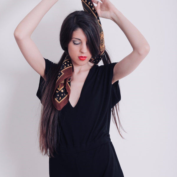 Black Vintage Jumpsuit