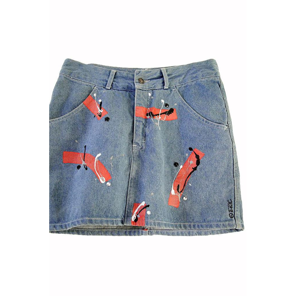 Denim Mini Skirt / Teksas Mini Suknja