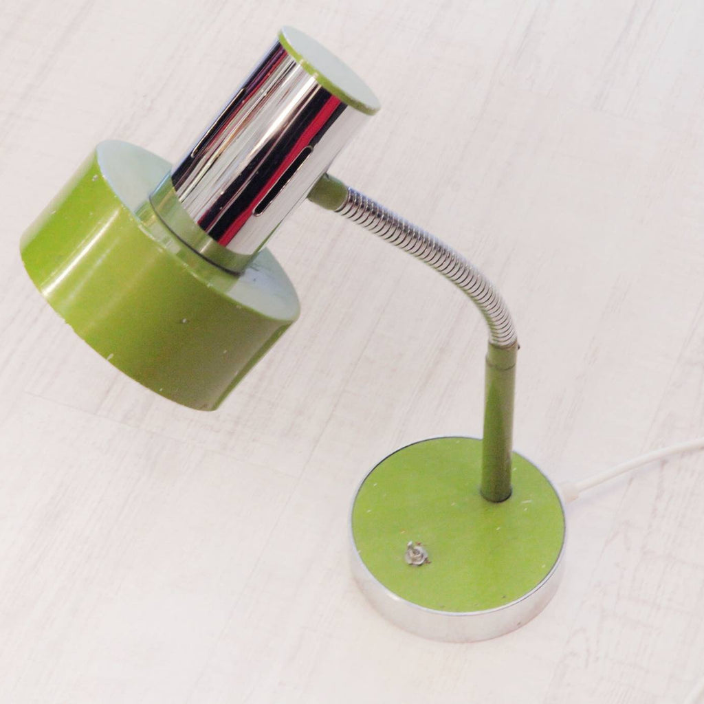 Green Vintage Table Light