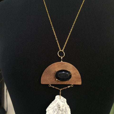 Handmade Necklace with Shell by Jane Doe
