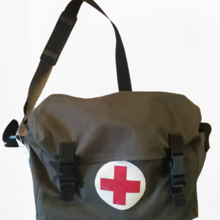 Vintage Army First Aid Bag