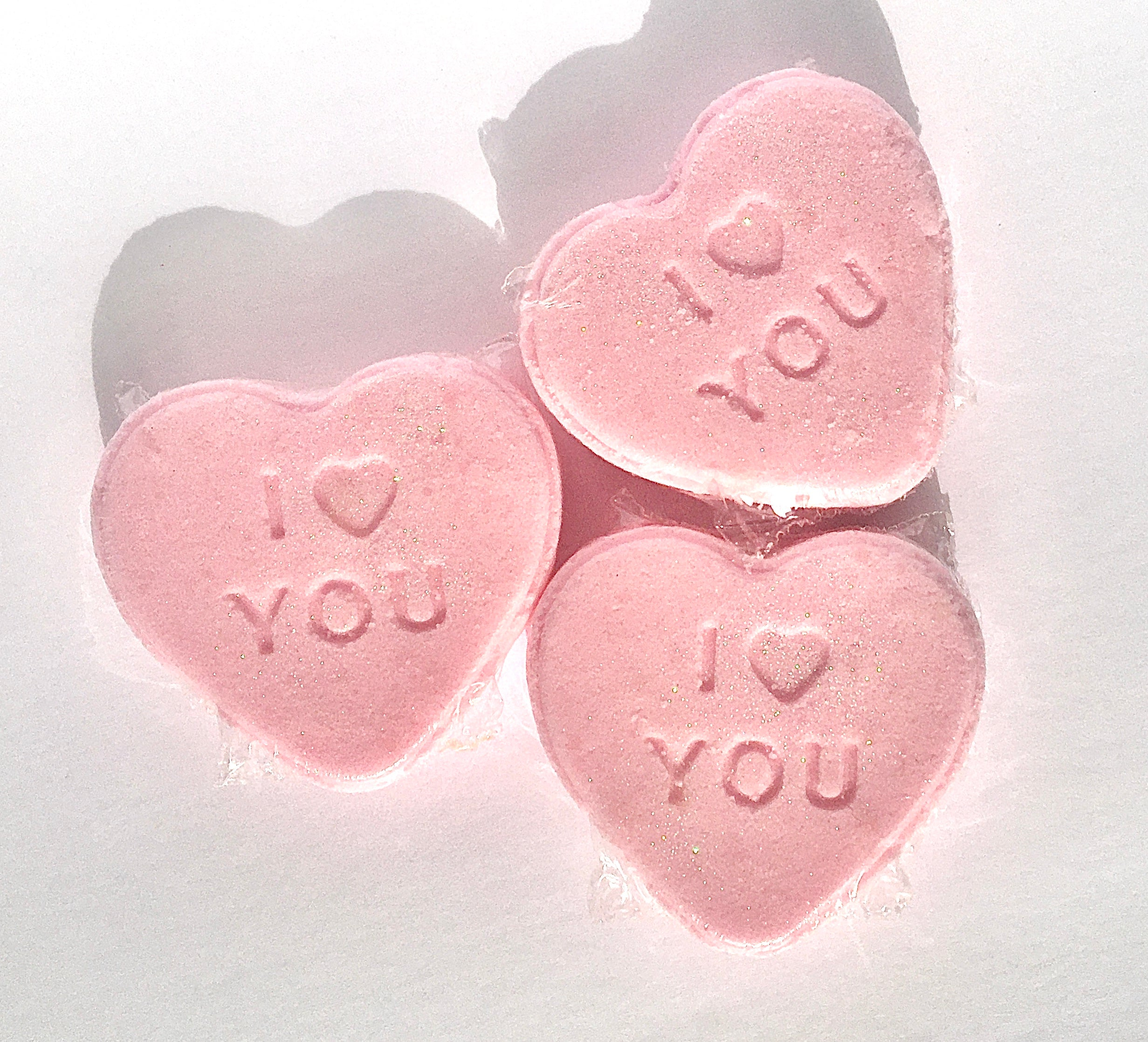 Valentines Strawberry Mint Shower Steamer | Pack of 3