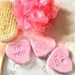 Load image into Gallery viewer, Valentines Bubblegum Mint Shower Steamer | Pack of 3