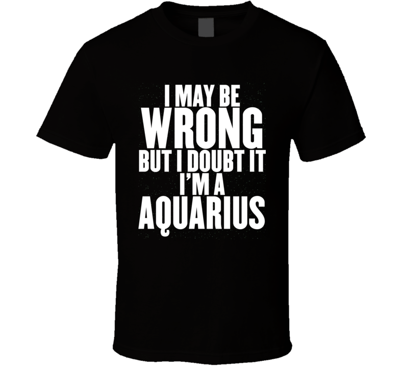 Aquarius T Shirt