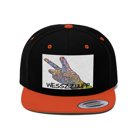 WESSZZUUP SNAPBACK HAT