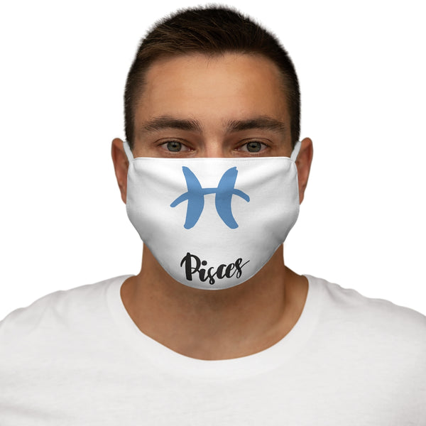 Pisces Snug-Fit Polyester Face Mask