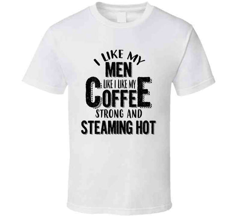 Steaming Hot shirt and mug