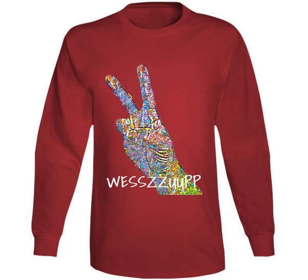 Wesszzuupp Long Sleeve T Shirt