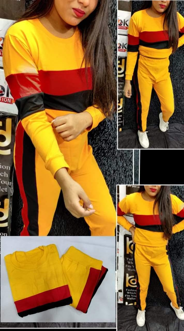 Hot looking Stylish Cotton Tracksuits Free size Up to M size - Kwirfy  - below 500 night suit, below 500 night wear, cotton night wear, kit kat, kit kat 002, label, micky mouse night wear, micky mouse track suit, Night suit, Track suit, track suit kit kat