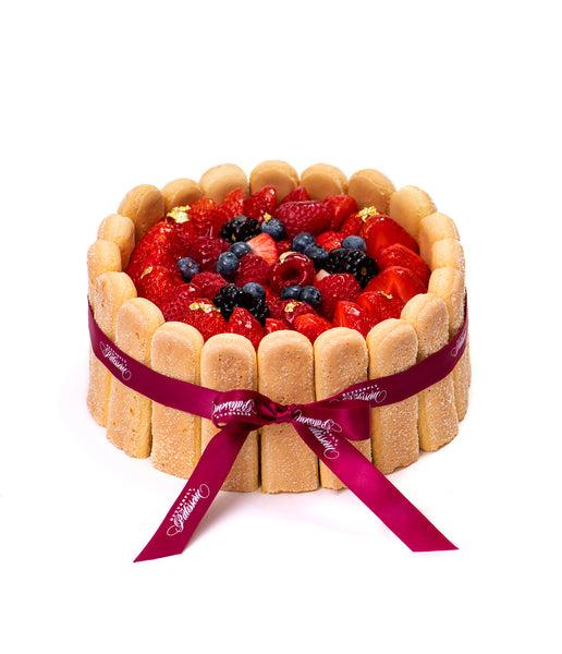Berry Charlotte Cake Butterfly Patisserie cake shop Rosewood Hong Kong
