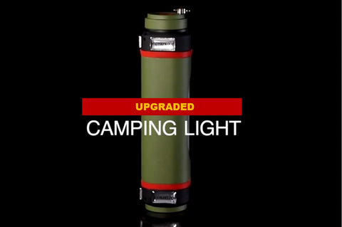 USB Rechageable Led Light Camping Lamp with Powerbank - FCP