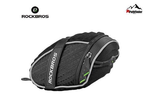 ROCKBROS Saddle Bag 3D Shell Quakeproof Bicycle Cycling Rear Seat Bag - FCP