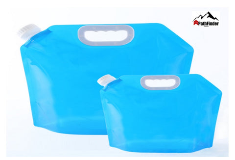 Foldable water container outdoor hiking drinking water 5L portable plastic water bladder  - FCP