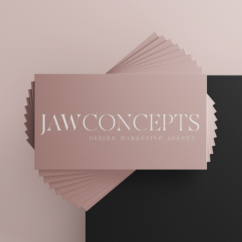 Business Cards (Design + Print)