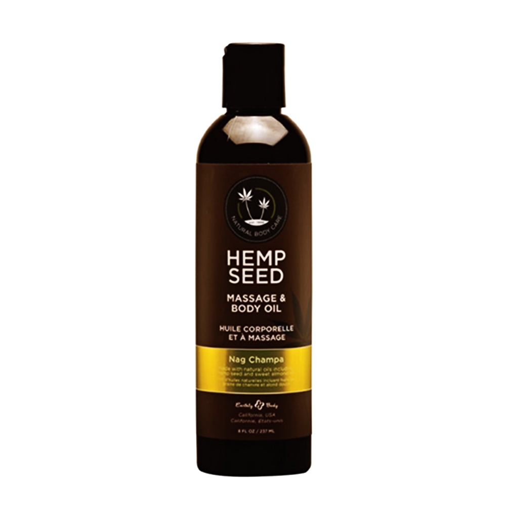 Hemp Seed Massage & Body Oil Nag Champa