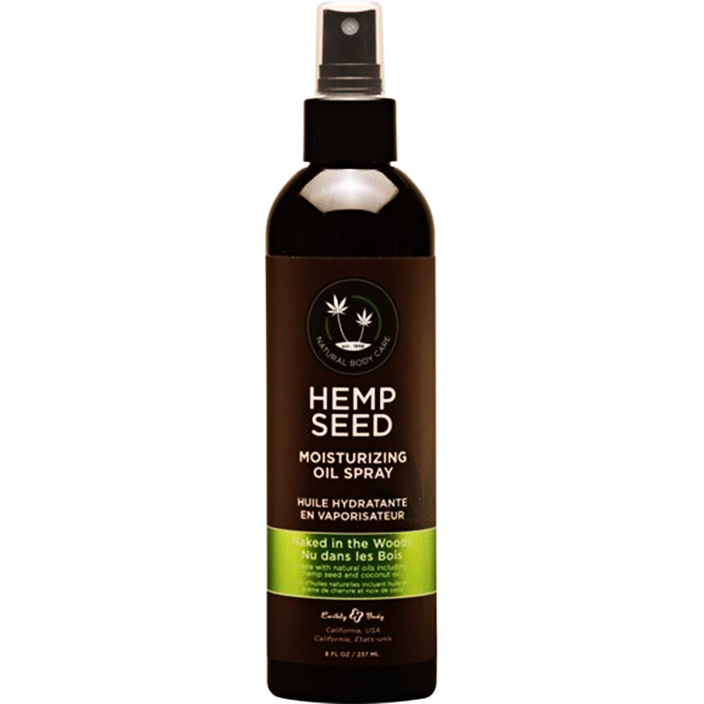 Hemp Seed Moisturizing Oil Naked In The Woods