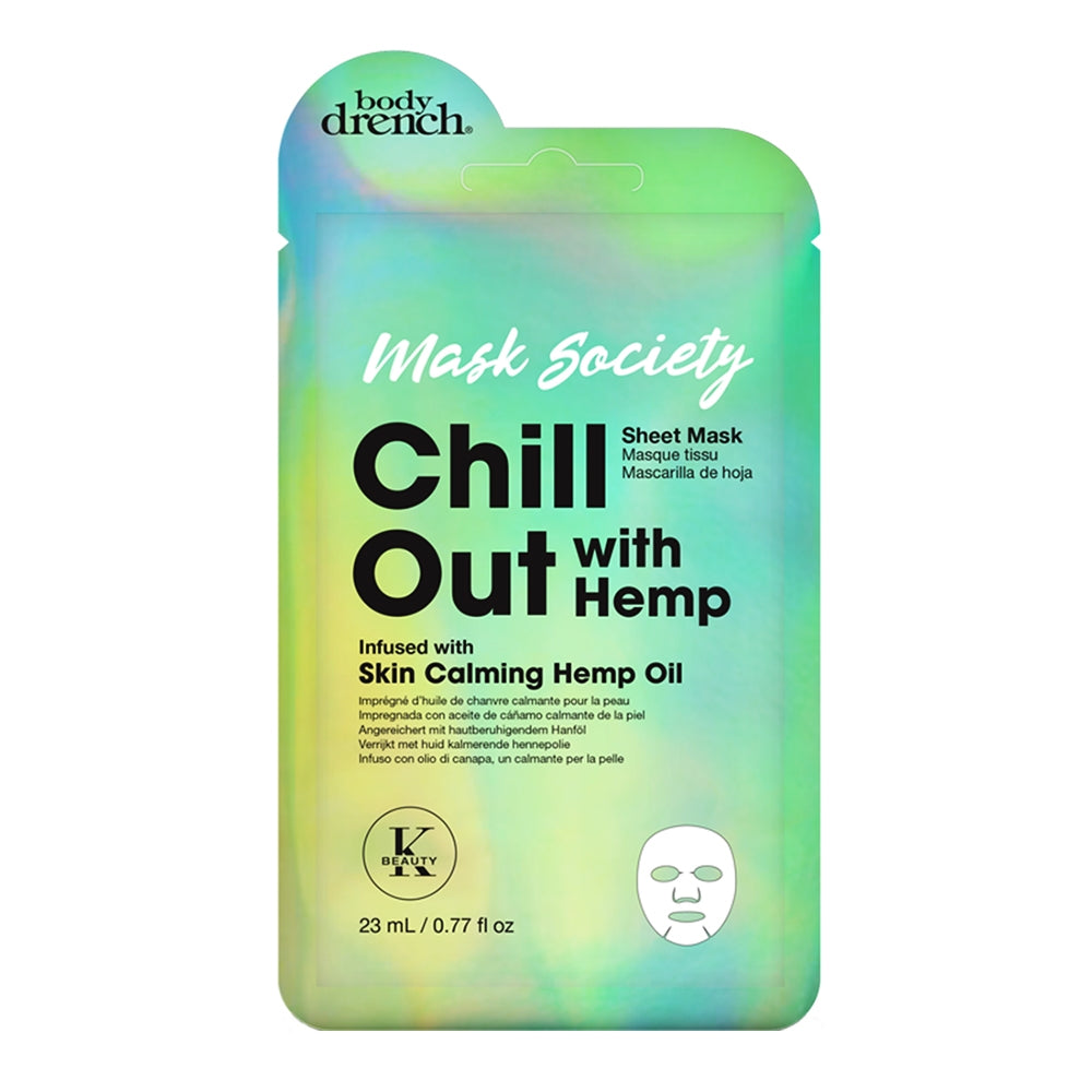 Body Drench Chill Out W/Hemp Sheet Mask