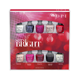 OPI Nail Lacquer Shine Bright Mini 10-Pack - AVANTIKA SKIN