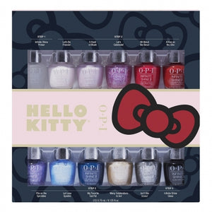 OPI Hello Kitty Infinite Shine Mini 12-Pack
