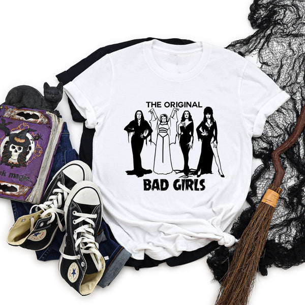 The original bad girls halloween T-shirt