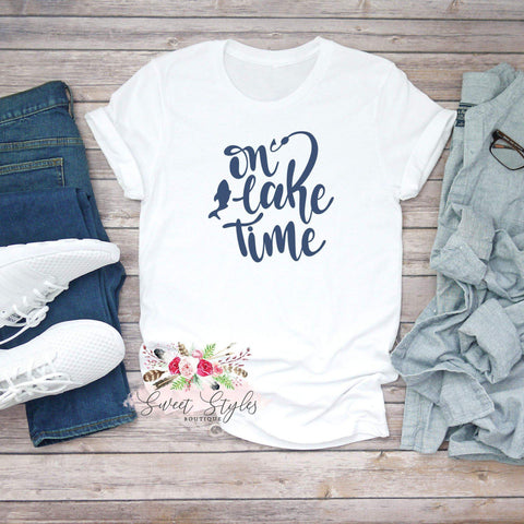 On lake time T-shirt-Sweet Styles boutique