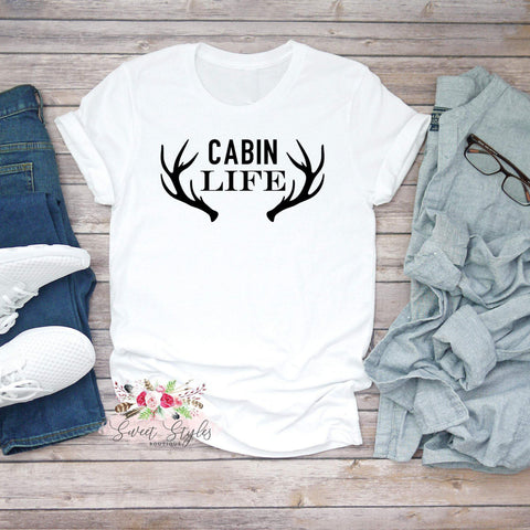 Antler summer graphic T-Shirt-Sweet Styles boutique