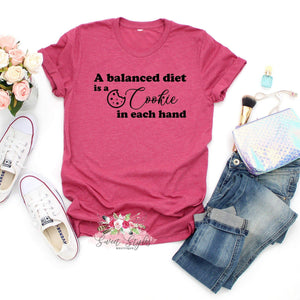 Cookie diet bakers T-shirt-Sweet Styles boutique