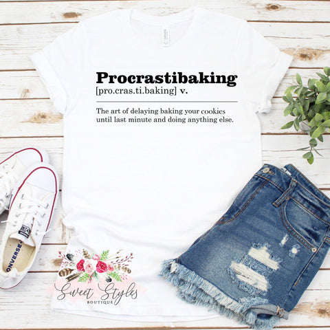Baking dictionary T-Shirt-Sweet Styles boutique