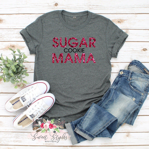 Bakers sugar cookie mama T-Shirt-Sweet Styles boutique