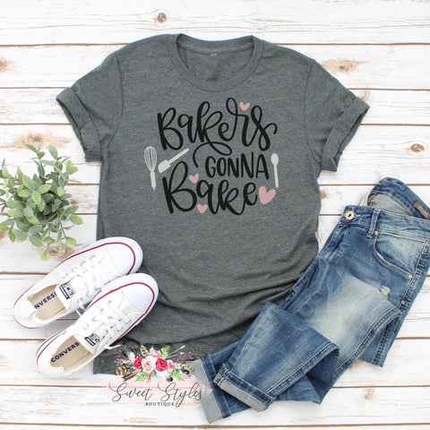 Bakers gonna bake graphic T-Shirt-Sweet Styles boutique