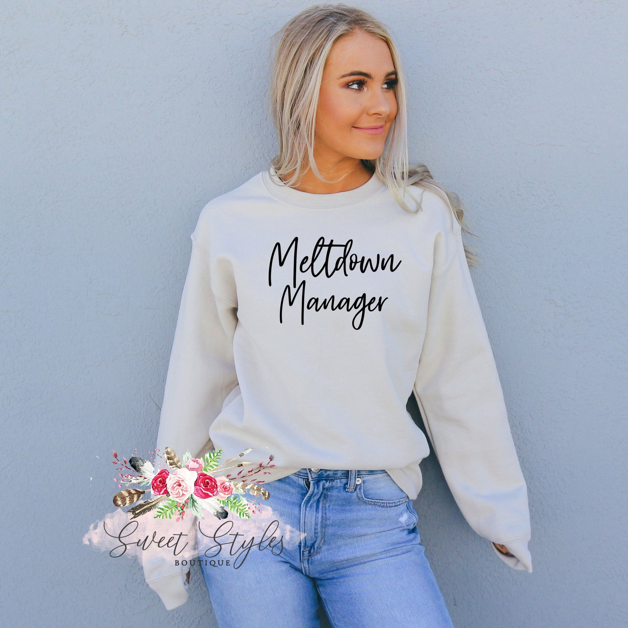 Meltdown manager sweater-Sweet Styles boutique