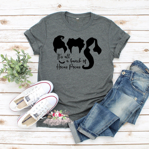 It's all a bunch of Hocus Pocus Halloween T-shirt-Sweet Styles boutique