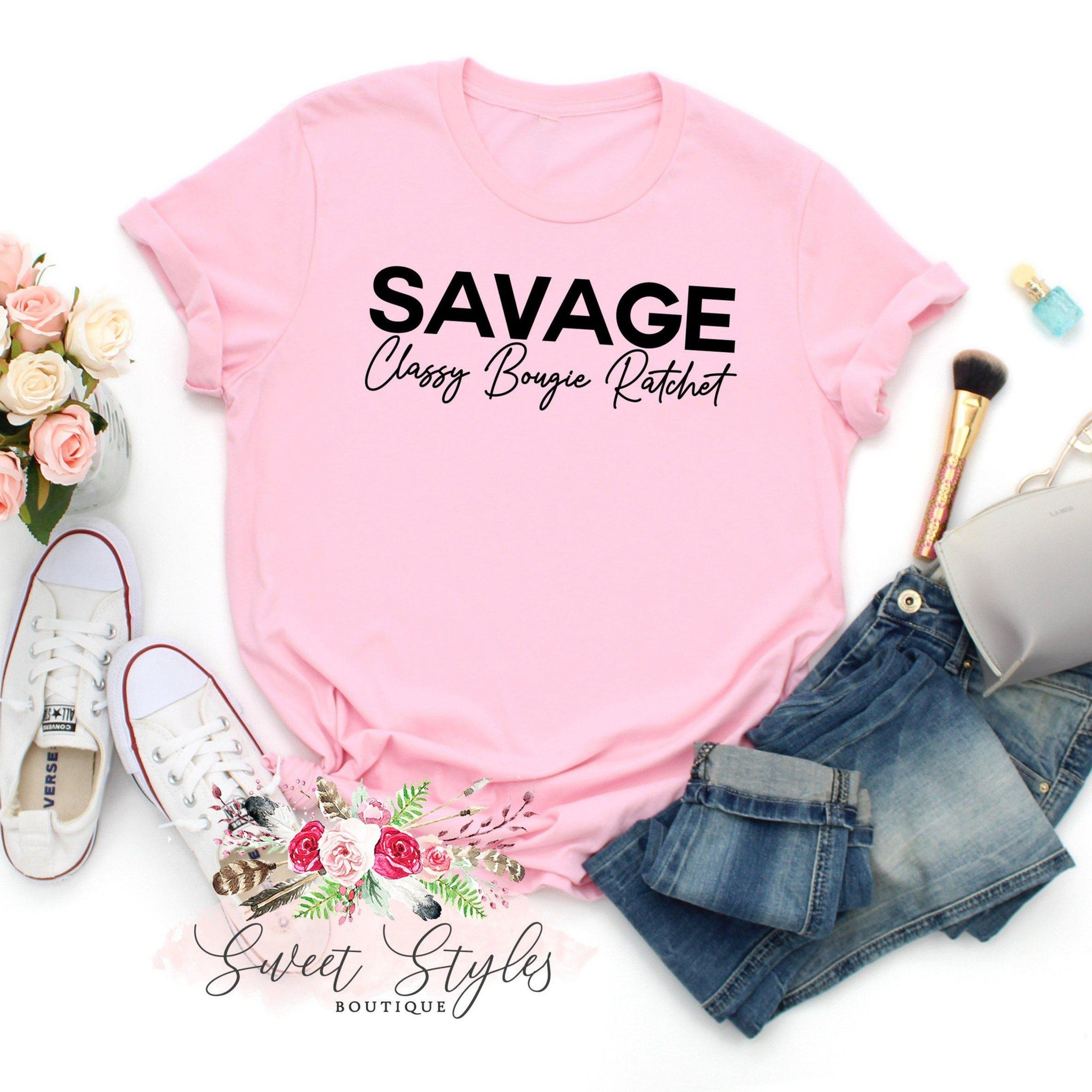 Savage TikTok Unisex Graphic T-shirt-Sweet Styles boutique